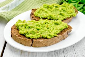 Vegetarischen Avocado Brotaufstrich