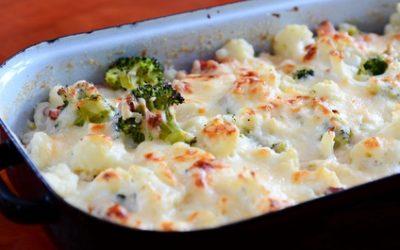 Blumenkohl Broccoli Auflauf